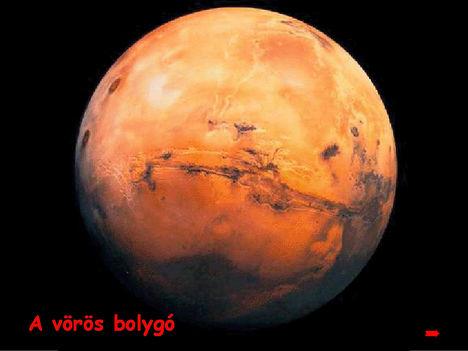 MARS a vörös bolygó