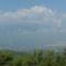 Az Olympos hegy felhőben