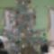 családi karácsonyfánk natúr szalmamacikkal