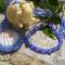Kagylós medál karkötővel