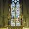 Körmöcbánya-színes üvegablak a Szt.Katalin templomban