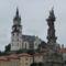 Körmöcbánya-Szt.Katalin templom és a Pestisoszlop