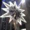 Swarovski csillag a Rockefeller sztárfája tetején