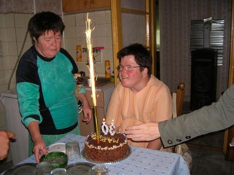 Lipták Margit és anyukája