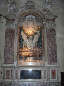 San Pietro in Vincoli - Aldobrandini bíboros síremléke