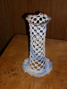 horgolt vázám