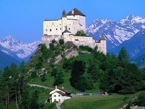 Tarasp Kastély - Svájc