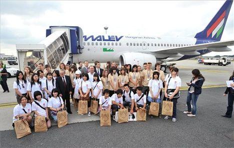 Fukushimai diákok