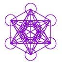 Metatron kocka síkban