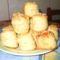 Pogácsa,sajtos,szezámos