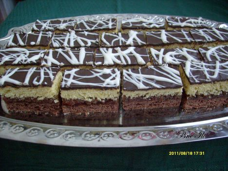 Kétszínű süti
