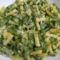 Mustáros zöldbab saláta