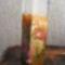 tuffolt decoupageolt névnapi váza