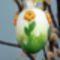 Díszes tojás barkára