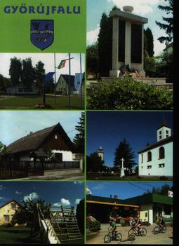 Győrújfalu képeslapja II.