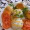 Tejbe sült sajtos csirke hús13