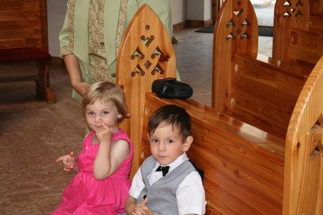 Bernadette és Zoltán a Millenium templomban