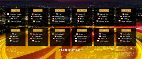 Európa Liga – Sorsolás