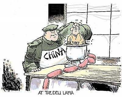 Kína bedarálhatja Tibetet és az Újgur tartományt Amerika szemet húny