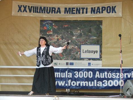 Bagdi Erzsi, Letenye, 2011.aug. 20.