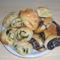 Kapros,sajtos és mákos tekercsek