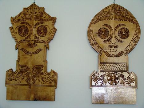Fadísz  -  István Sándor székely fafaragó munkája