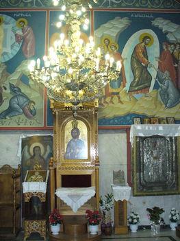 A templom belső