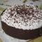 Oroszkrém torta csokigallérral