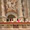 Krisztus arcképével Veronika kendőjének bemutatása