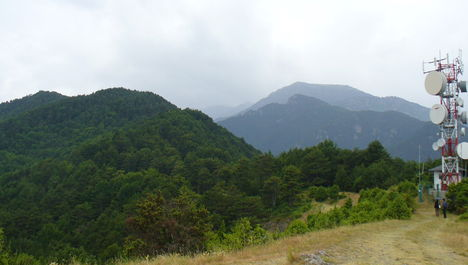 Az Olymposz-hegyen