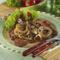 Grillezett tarja fűszeres hagymával