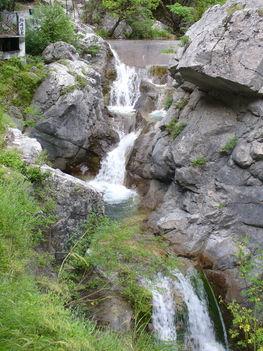 Kis vízesések Zeusz fürdőkádjánál