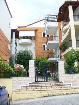 Litochoro szép házai