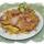 Sült karaj bacon szalonnával