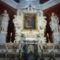 A templom oltára-középen a Mária kép.