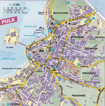 Pula-map
