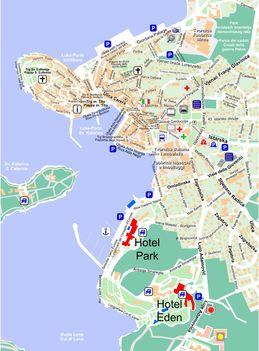 Rovinj-map