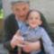 2011 nyara apukám a dédiunokájával Misóval.