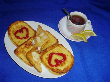 zsírmentes bundás kenyér