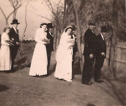 Esküvő 1949. febr. 19.