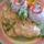 Gombás szelet rízzsel