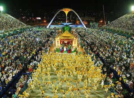a brazil karnevál életképei