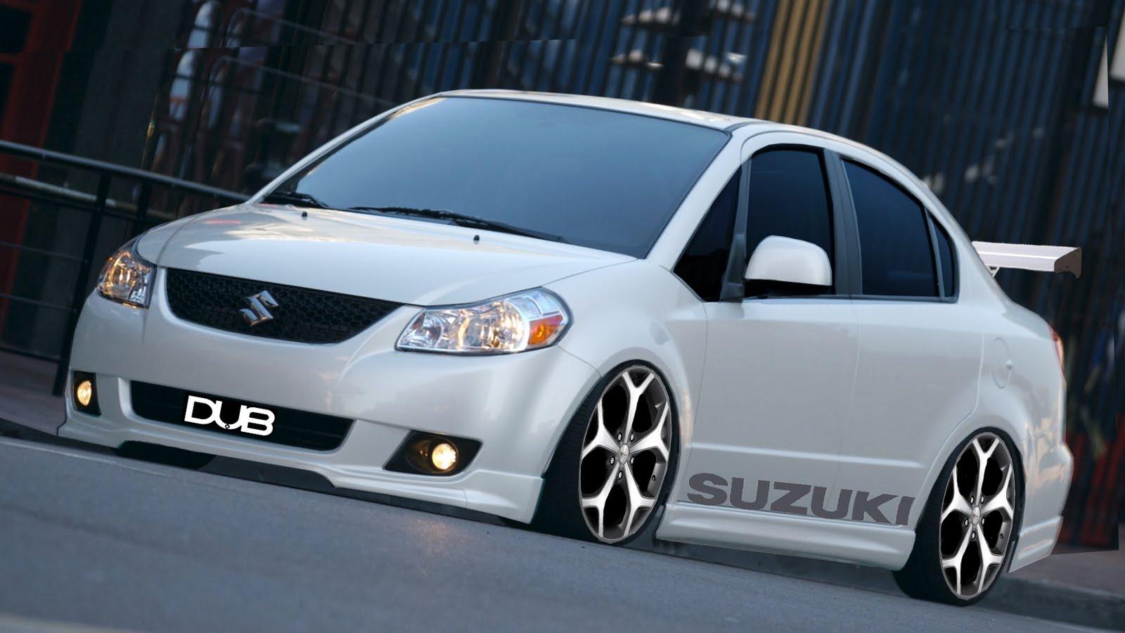 Suzuki SX4 Sedan Tuning
