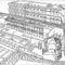 Vesta szüzek háza rekonstrukció