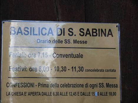 Basilika di S. Sabina