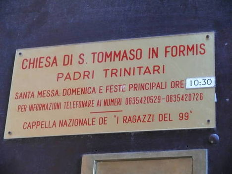 S. Tommaso in Formis am Rand der Villa Celimontana