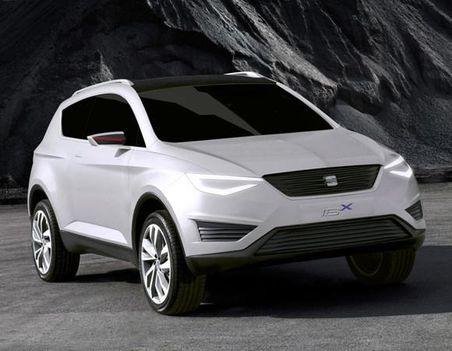 SEAT IBX Concept elölről