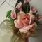 rózsaszín virág csokor
