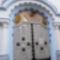 Szecessziós templom bejárat