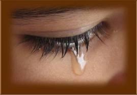 Könnyes szem